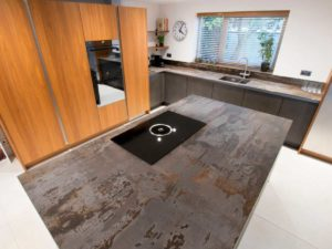 Dekton Trilium compact stone countertop kitchen - different types of stone countertops