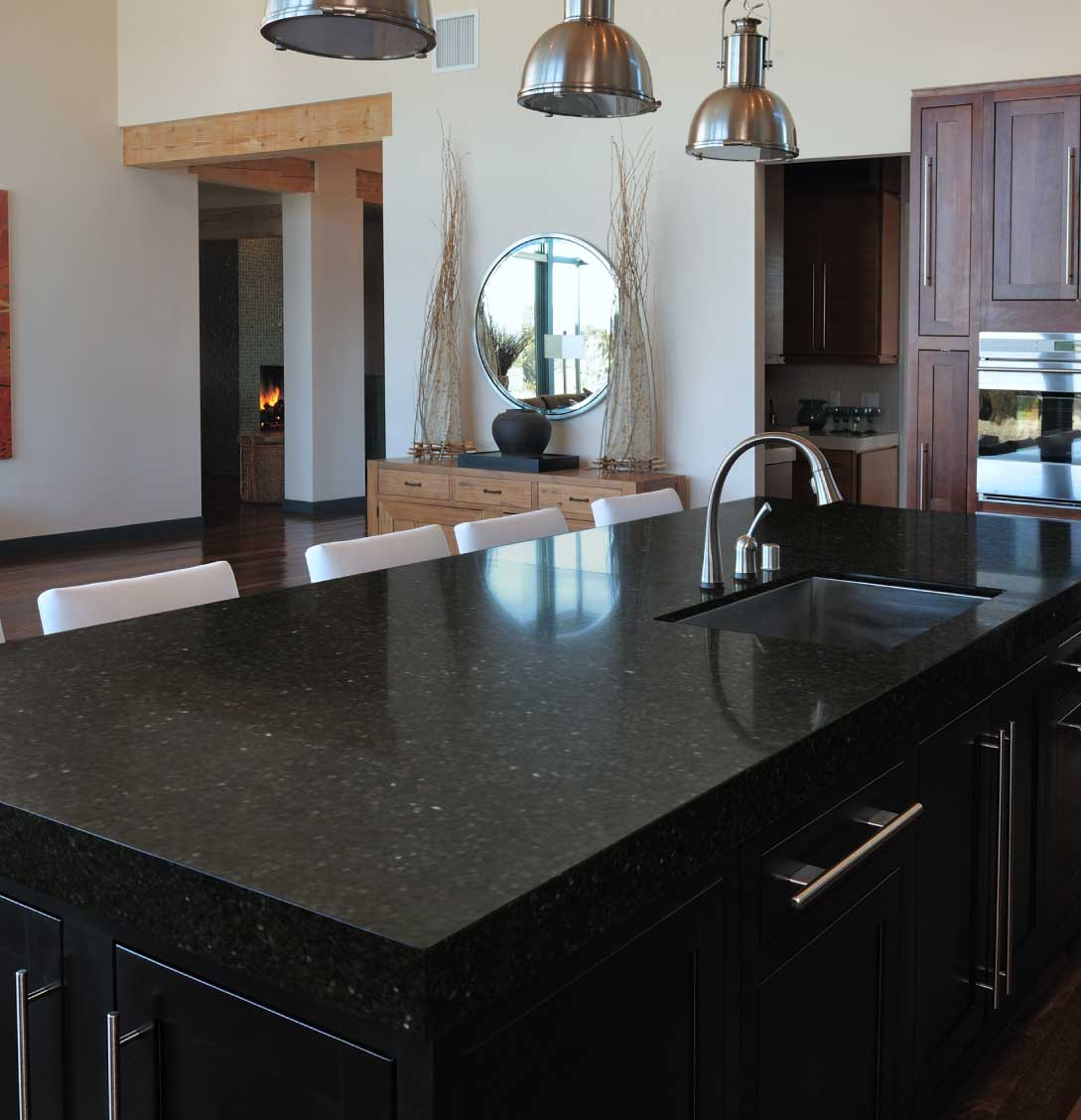 Scalea UbaTuba granite countertop kitchen