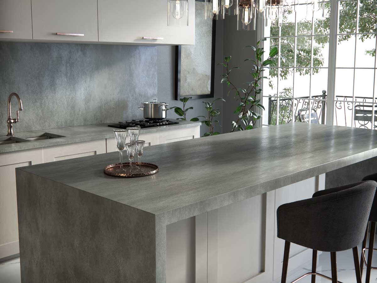 Silestone Brooklyn quartz countertop kitchen