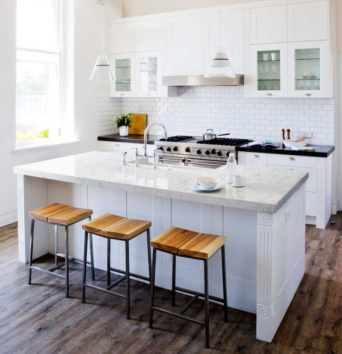 Silestone Lusso quartz countertop kitchen