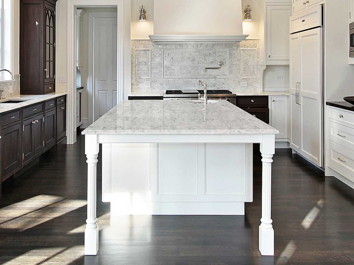 Silestone Pietra quartz countertop kitchen